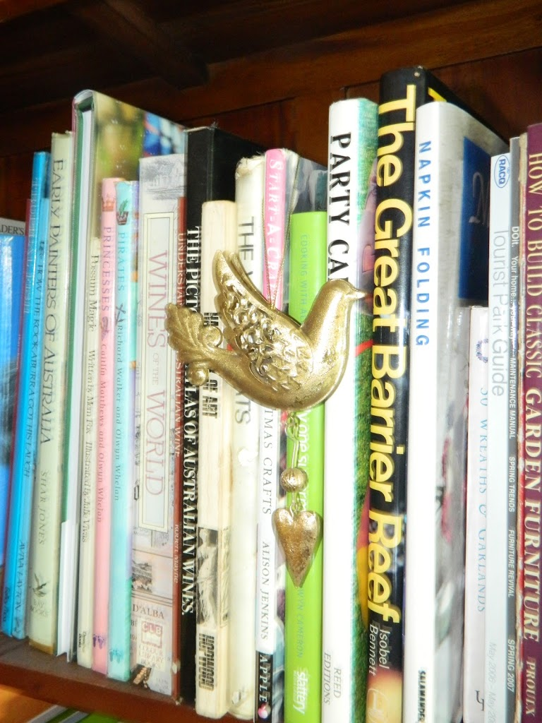 Partridge in a Bookcase