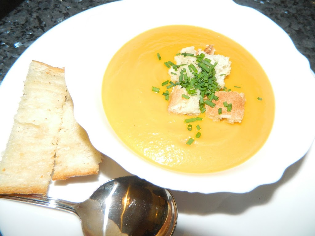 Quickest Pumpkin Soup